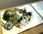 מודל 3D  /אוטופיה נבואית  /פרוייקט גמר 2015