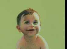 ציור תינוק פורטרט בהזמנה אמנות  ישראלית