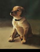 פורטרט גור כלבים - אמנות ישראלית בהזמנה