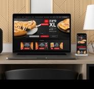 UX/UI לאתר ולאפקליציית ההזמנות של PizzaHut