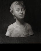 John the baptist as a young boy - cast drawing