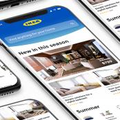 עיצוב מחדש לאפליקציית IKEA