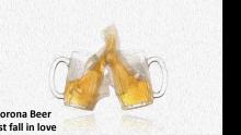 פרסומת לבירה קורונה