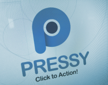 Pressy - The almighty Android button - LOGO