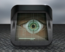 retinal scan app icon