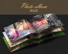 Design photo album 80x30