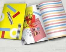 עיצוב קטלוג לזכר מעצב גרפי פול ראנד