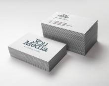 עיצוב לוגו ומיתוג לחברה / you Media  *בשיתוף עם סטודיו כפיר כץ
