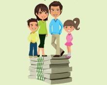 אינפוגרפיקה - לאן הולך הכסף במשפחה ?