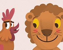 Chicken & Lion