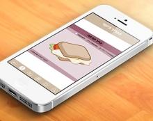 The Sandwich App | Mobile app