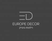 מיתוג Europe Decor | וילונות בוטיק
