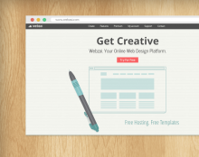 Home Page Design For Webzai