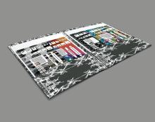 עיצוב לוח שנה טיפוגרפי ייעודי