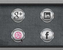 כפתורי מדיה חברתית (פורסם בפיקסל פרפקט מגזין)