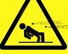 Wet floor caution