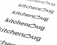 Kitchenbug / Logo Design Process