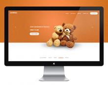 stuffies website UI/UX