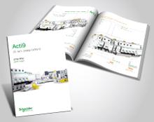 עיצוב קטלוג מוצרים מסדרת Acti9