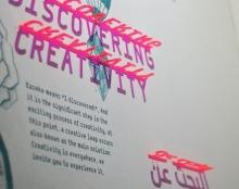 פרויקט שילוט - יצירתיות ומדע בפלורנטין