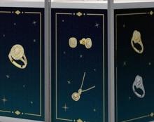 עיצוג גרפי עבור ביתן - חלפון תכשיטי יהלומים