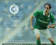 Maccabi Haifa website concept