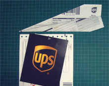 משלוח אווירי UPS