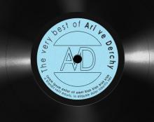 מוק-אפ של תקליט ויניל