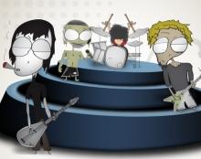 עיצוב דמויות - M.D.R band