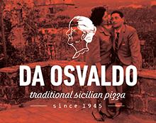 Da Osvaldo מיתוג לפיצרייה סיציליאנית