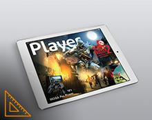 Player מגזין אינטרקטיבי