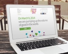 Good Deeds Day Website