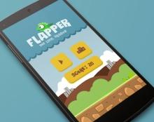 Flapper app design