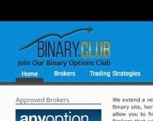 Binary Club site