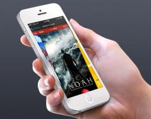 רעיון לאפליקציית אייפון לרשת בתי הקולנוע לב