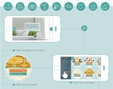 WashiME | אפליקציה לעיצוב הבית באמצעות טפטים