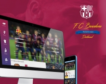 F.C Barcelona Dashboard