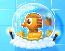 Bubble boom - Art for mobile game