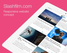 עדכון - עיצוב רספונסיבי לאתר Slashfilm.com