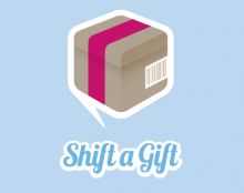 Shift a Gift Logo.