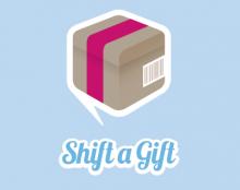 Shift a Gift Logo.