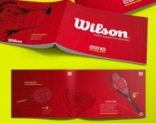 עיצוב קטלוג מוצרים - wilson
