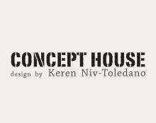 לוגו וכרטיסי ביקור ל CONCEPT HOUSE