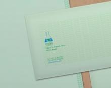 עיצוב לוגו וניירת משרדית לחברה פרמצבטית