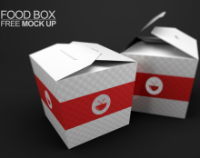 FoodBOX free Mock Up PSD
