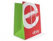 ebay עיצוב שקית ומחברת