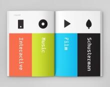 עיצוב יומן מסע לפסטיבל SXSW