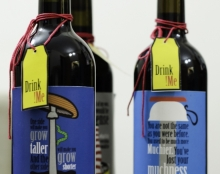 סדרת בקבוקי יין