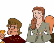 כמה דמויות ממשחקי הכס