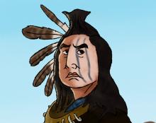 איור של אינדיאני